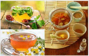 Thực phẩm chức năng trà thảo mộc