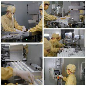 Thực phẩm chức năng được sản xuất theo một quy trình khép kín, nghiêm ngặt